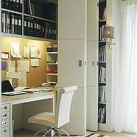 dens/libraries/offices - chair, desk, closet office, office in closet, closet desk, desk in closet, closet work space, work space in closet, closet converted into office, converted closet office, converted office closet, closet transformed into office, closet turned office,