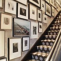 Eric Cohler Design - entrances/foyers - photo gallery, brown, black, white, geometric, runner, gray, walls, entrance, foyer, david hicks rug, geometric rug, hex rug, hexagon rug, hexagonal rug, david hicks hex rug, david hicks hexagon rug, david hicks hexagonal rug, david hicks geometric rug, david hicks colony rug,