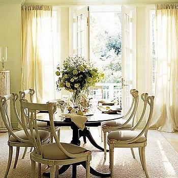 French Dining Table, French, dining room
