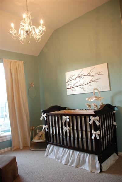 Baby Boy Room Design Pictures: Blue Nursery Paint Colors