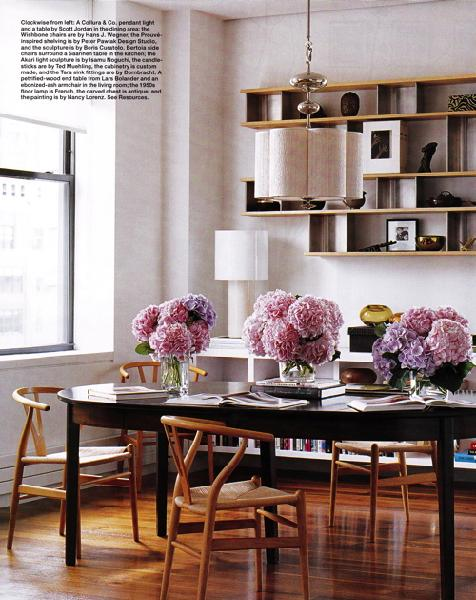 Oval Dining Table- Eclectic, dining room