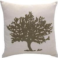 Pillows - Linens 'n Things - Home Decor: Decorative Pillows: Fashion Toss Pillows: Coral Tree Toss Pillow - Pillow