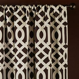 Window Treatments - Z Gallerie - Tango Panels - Chocolate - curtains