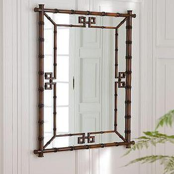 Mirrors - Williams-Sonoma Home | Hampstead Mirror - bamboo frame