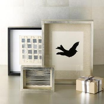 Decor/Accessories - thin box frames | west elm - frames