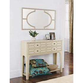 Storage Furniture - Casablanca Mirror and Console Table - Home D�?©cor - mirror