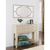 Storage Furniture - Casablanca Mirror and Console Table - Home D?cor - mirror