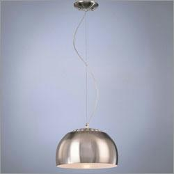 Lighting - George Kovacs by Minka P861-084 - One Light Arc Ceiling Pendant - silver pendant light