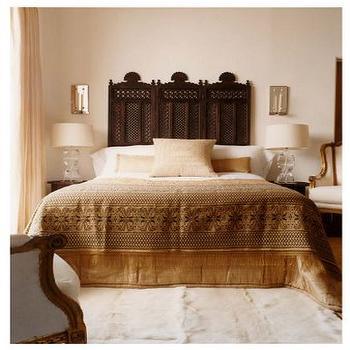 Moroccan Headboard, Mediterranean, bedroom