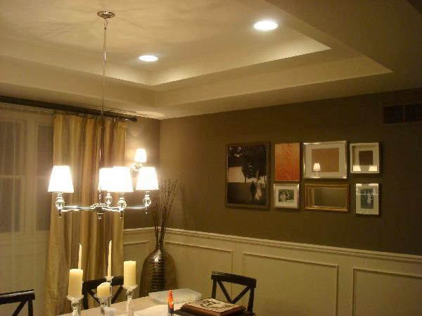 Dining Room Wainscoting - Transitional - miscellaneous - Sherwin ...