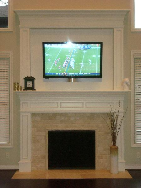 Tv Over Fireplace Stacy Nance Interiors