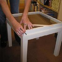 Tables - ikea ribba frame memory box table - ikea ribba frame, lack table, memory box