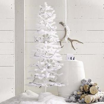 christmas tree, west elm