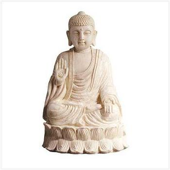 Decor/Accessories - Serene Buddha Statue - figurine
