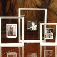 Decor/Accessories - White Floating Frames - white, frame, floating, ghost, glass