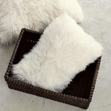 sheepskin pillow cover | west elm