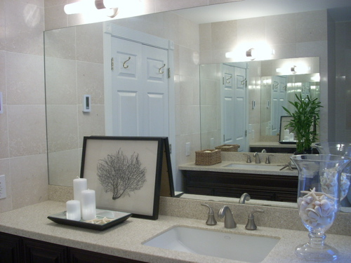 Sherwin Williams Sea Salt. bathrooms - suzie sea fan art