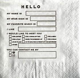 Miscellaneous - Hello Napkins - hello napkins