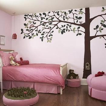 Pink Girl's Room, Transitional, girl's room, CCG Interiors