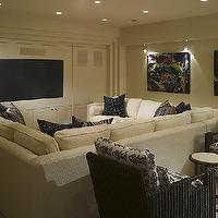 media rooms - media room, sectional, sectional sofa, cream sectional, cream sectional sofa, linen sectional, linen sectional sofa, cream linen sectional, cream linen sectional sofa, pit sectional, cream pit sectional, pit sectional sofa, cream pit sectional sofa,