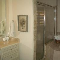 bathrooms - Sea Fan, master bath, sea fan, seafan, sea fan coral, seafan coral, framed sea fan, framed seafan, frames sea fan coral, framed seafan coral, sea fan art, seafan art, framed sea fan art, framed seafan art, black sea fan coral,