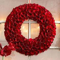 Miscellaneous - Rose Wood Wreath, 24 - fresh wreath