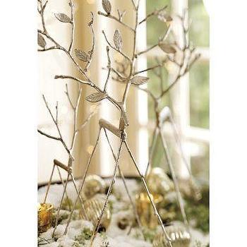 Twig Reindeers, Pottery Barn