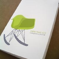 Miscellaneous - Etsy :: annacote :: Eames Rocker Pregnancy Journal - pregnancy journal