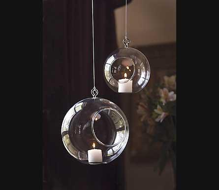 Decor/Accessories - Mothology - The Science of Style - Hanging Glass Globes - candle holder, hanging globe