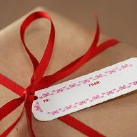 Miscellaneous - Etsy :: rubypress :: Noel Gift Tags Package of 8 - gift tags
