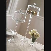 Decor/Accessories - Mothology - The Science of Style - Glass Pastry Stands with Cover - pastry stands, cake stands