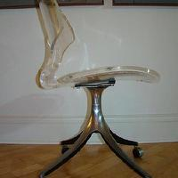 Seating - HOLLYWOOD REGENCY KARL SPRINGER LUCITE CHAIR EAMES ERA - eBay (item 110322041879 end time Dec-14-08 19:00:32 PST) - chair