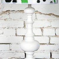 Lighting - UrbanOutfitters.com &gt; White Spindle Lamp Base - lamp