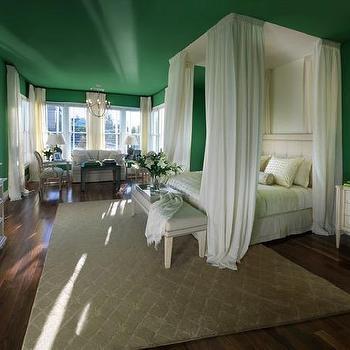Kelly Green Bedroom, Transitional, bedroom, HGTV