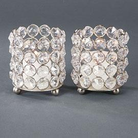 Decor/Accessories - Bling Votive Cups - votive, candles