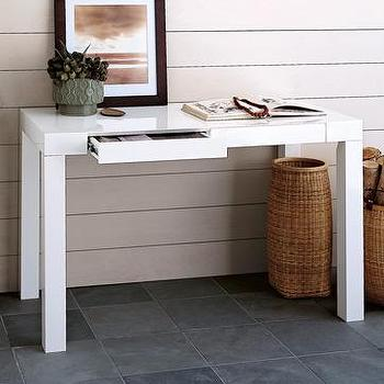 Storage Furniture - parsons desk | west elm - parson desk