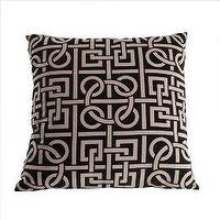 Pillows - Printed Pillow - Black (18x18 - pillow