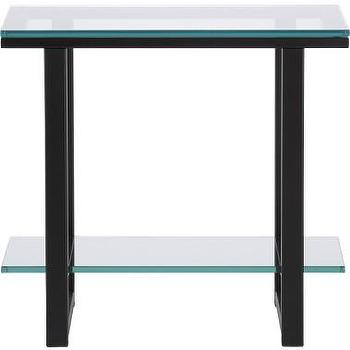 Tables - glass side table - glass side table