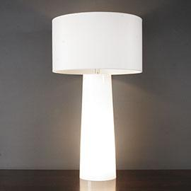Lighting - Colby Table Lamp - table lamp, white