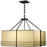 Lighting - Stonegate Designs LP10494 Mesa 28 - square shade pendant light