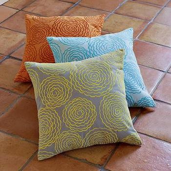 Pillows - zinnia pillow cover| west elm - pillow