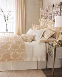Bedding - bedding - beige white bedding
