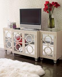 Storage Furniture - console - mirrored console