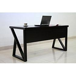 Storage Furniture - Modern Espresso Desk from Overstock.com - Office Desk