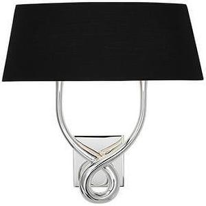 Lighting - wall sconce with black shade - wall sconce