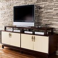 Storage Furniture - console - white door console