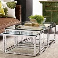Tables - cocktail table - three piece cocktail table