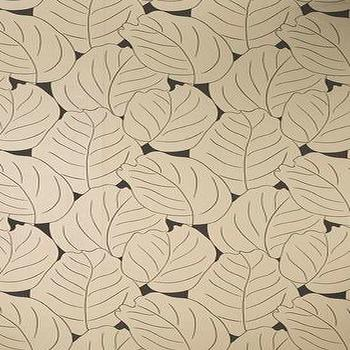 Wallpaper - VINTAGE II Dufy Leaf Wallpapers From Osborne and Little - wallpaper, leafes