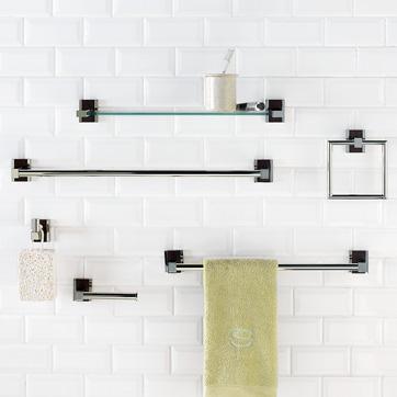Metal Wood Bath Accessories West Elm