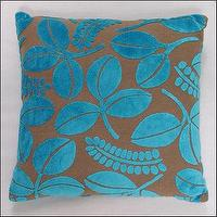 Pillows - 0287: Beautiful Pillows - turquoise pillow